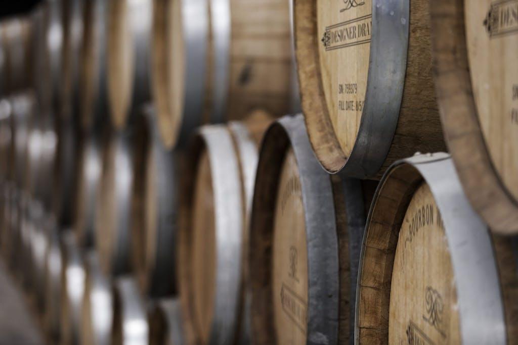 Designer Dram wood barrels